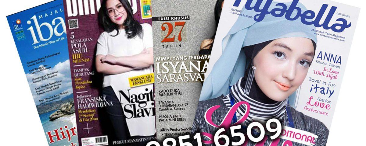 harga cetak majalah full color