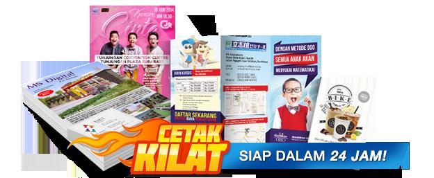 Cetak Brosur Murah Jakarta